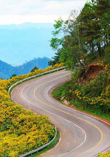 Mountain Road Thailand