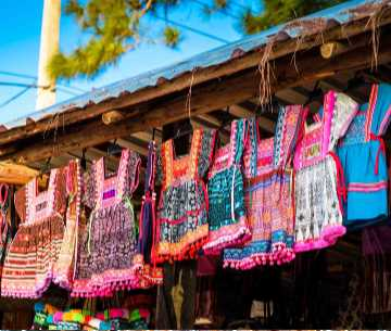Hill Tribe Clothing Mae Hong Son Thailand